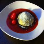 Topfen-Erdbeerknödel im Mohnmantel mit Erdbeersauce aus dem Dampfgarer