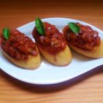 Tomaten Bruschetta. Ganz einfach. So gut.