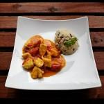 Curry Sriracha Chicken – extra scharf!