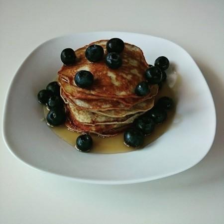 Gesunde Bananen-Pancakes