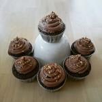 Nutella Cupcakes mit Mascarpone Topping